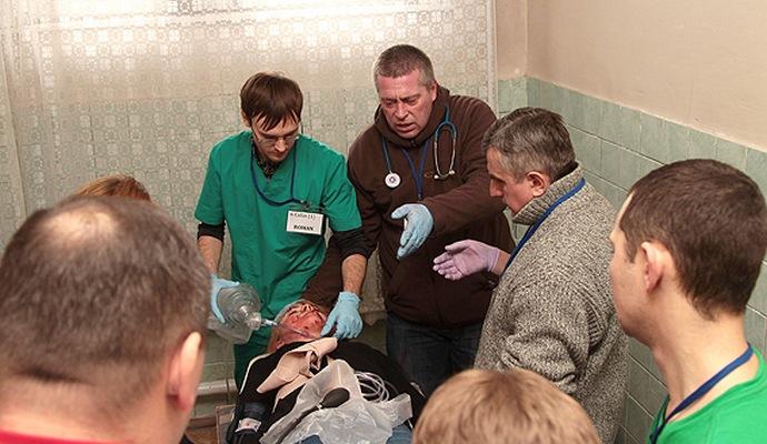 Украинские медики прошли курс подготовки по мировым стандартам