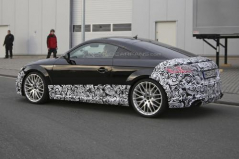 Audi TT-RS Coupe проходить тести у власному кузові (18 фото) (2)