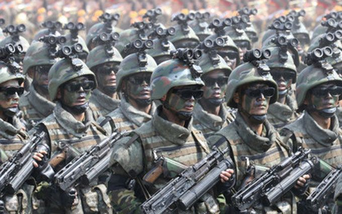 В КНДР пройшли масштабні військові навчання
