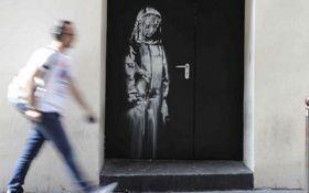 В Париже похитили популярную картину Бэнкси: появились подробности