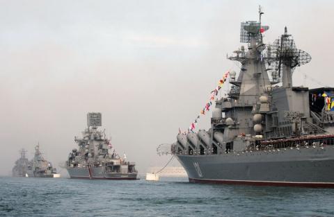 Росія не виключає використання Чорноморського флоту для блокади узбережжя Сирії