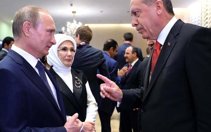 Названо питання, з якого ніяк не домовляться Путін і Ердоган