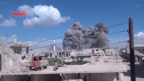 Росія просить США пред'явити докази того, що авіаудари в Сирії були по мирним жителям