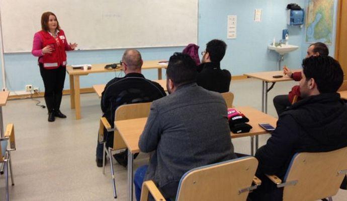 Для беженцев проводят уроки финских ценностей