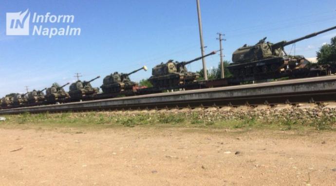 Стягування Росією військ до кордону з Україною: з'явилися нові фото (4)