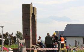 У міністерстві культури Польщі заявили про законність демонтажу пам'ятника воїнам УПА