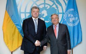 Переговоры Порошенко с генсеком ООН: о чем удалось договориться