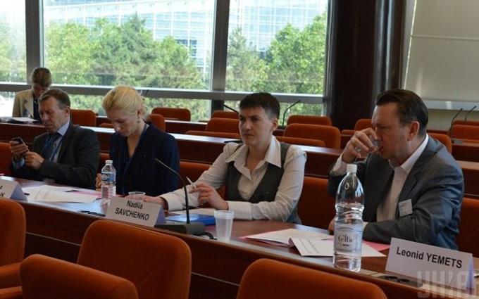 Савченко в Європі зустріли оплесками