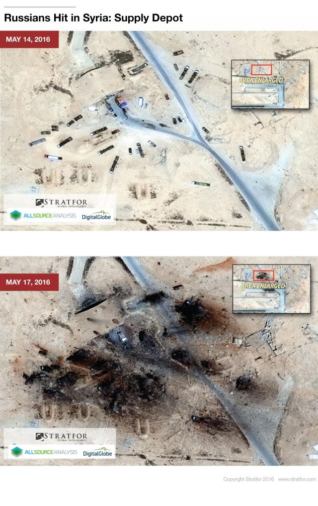 ІДІЛ знищив частину російської авіації в Сирії: фото з супутника (3)