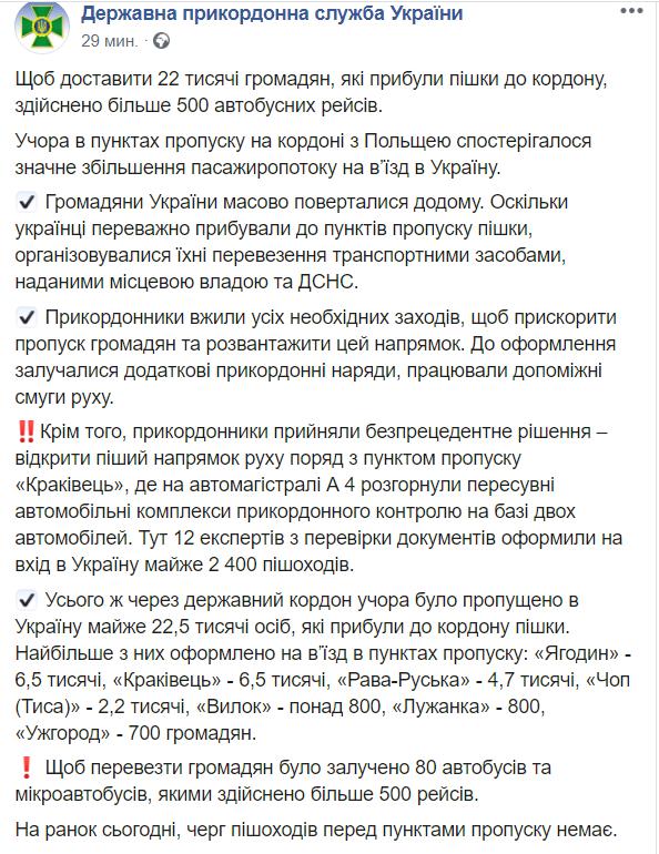 Украинцы массово возвращаются домой: пограничники пошли на беспрецедентное решение (1)