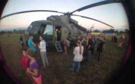 В Запорожской области произошло ЧП с военным вертолетом: появились фото и видео