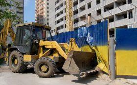 У Києві знову загострюється ситуація навколо спірної території: опубліковані фото
