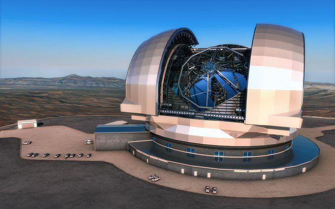В Чили начали строительство крупнейшего телескопа в мире: появилось видео