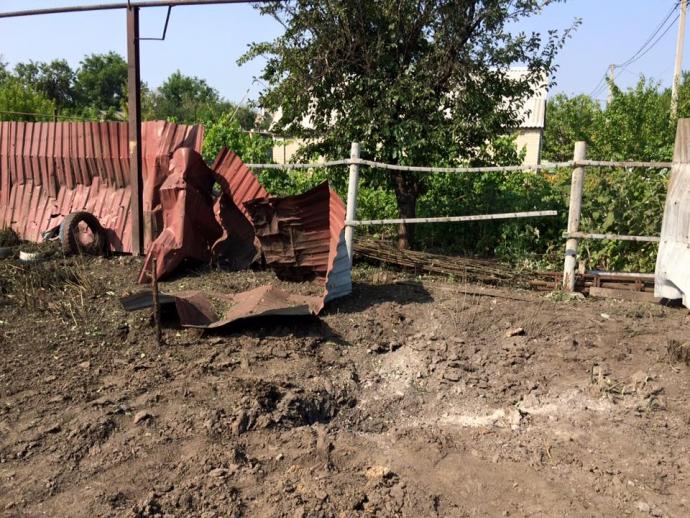 Обстріл Донецька: з'явилися нові фото (1)