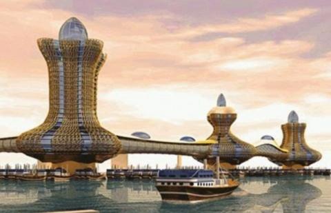 Объединённые Арабские Эмираты удивляют мир (15 фото) (14)