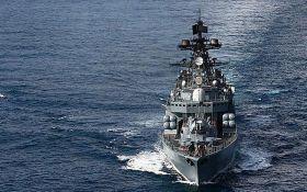 Латвия заметила у своих границ три российских боевых корабля