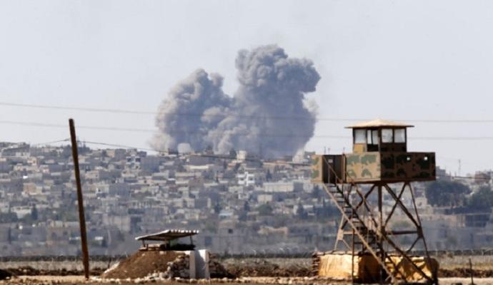 Международная коалиция за сутки нанесла 23 авиаудара по позициям ИГИЛ