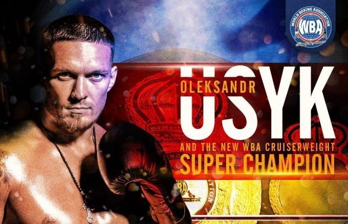 Усик признан лучшим боксером месяца по версии WBA (1)