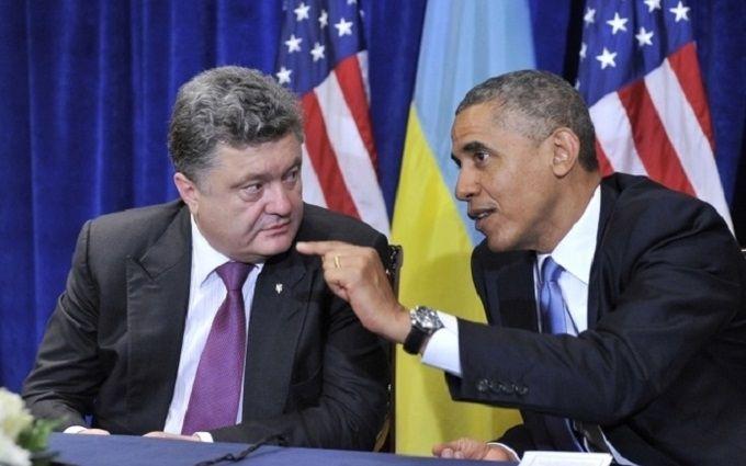 В Украине анонсировали встречу Порошенко и Обамы