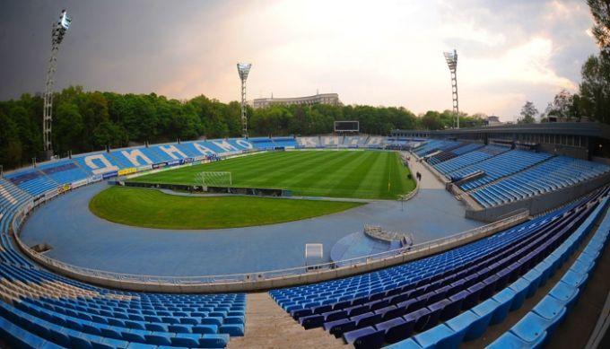 Ремонтные работы на стадионе Динамо завершены