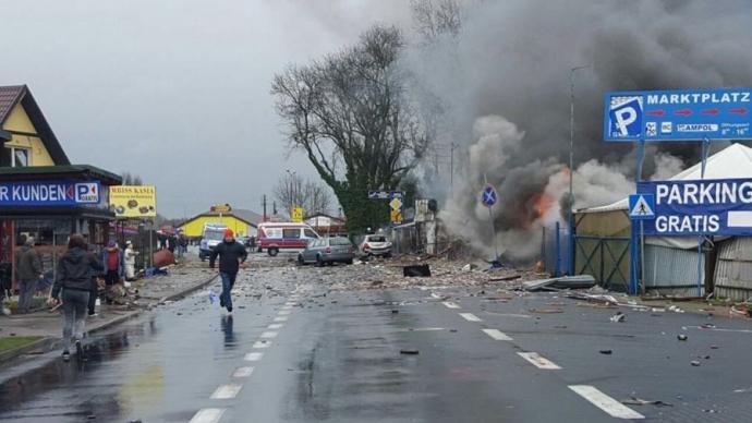 На границе Германии и Польши произошел мощный взрыв: опубликованы фото (1)