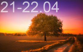 Прогноз погоди на вихідні дні в Україні - 21-22 квітня