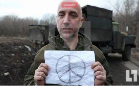 Нове відео з письменником-бойовиком ДНР: журналіст вказав на важливу деталь