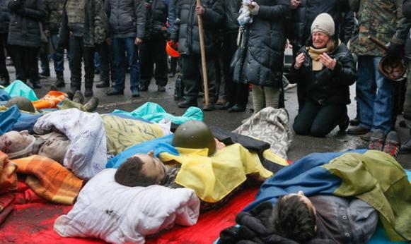 Никогда не забудем: в Украине чтят память героев Небесной сотни (1)