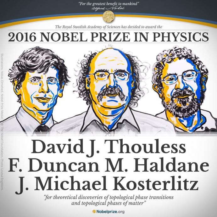 Визначені три лауреати Нобелівської премії з фізики (1)