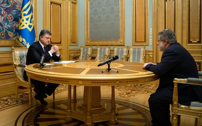 Журналисты раскрыли подробности тайного визита Коломойского в Киев
