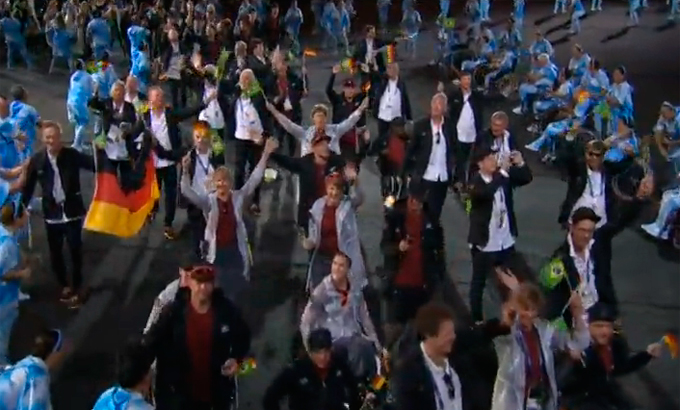 Церемония открытия Паралимпиады-2016: фото и видео из Рио (61)