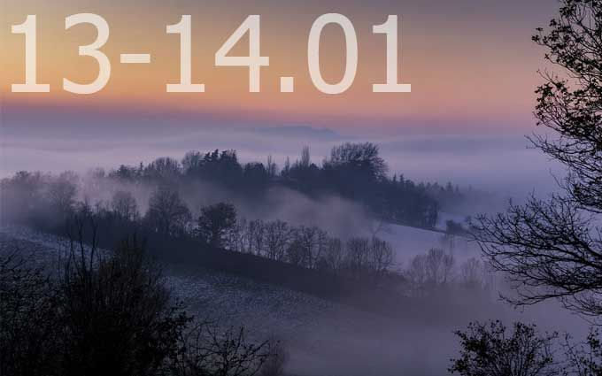 Прогноз погоди на вихідні дні в Україні - 13-14 січня