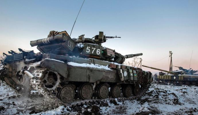 За последние сутки боевики обстреляли позиции АТО из минометов и БМП 67 раз