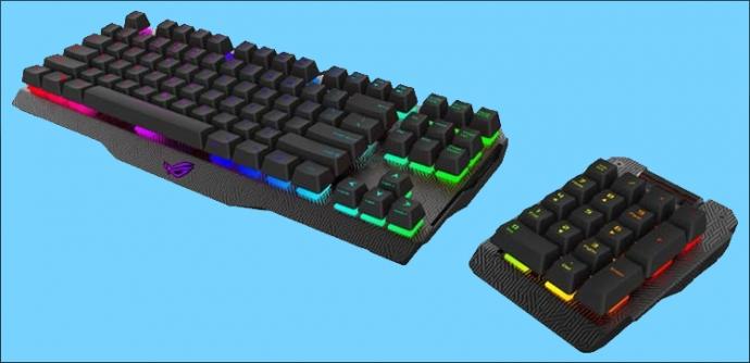 Компанія ASUS представила клавіатуру-конструктор Claymore (відео)