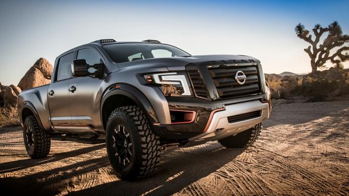 Nissan представив войовничий концепт Titan Warrior (4 фото) (1)