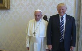 Трамп встретился с Папой Римским: появилось видео