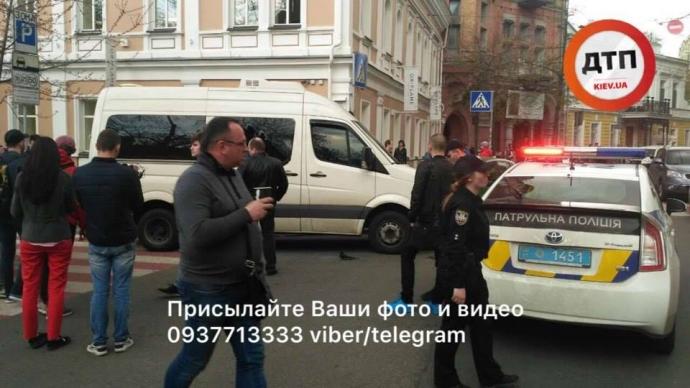 В центре Киева провели задержание со стрельбой - СМИ подозревают спецоперацию СБУ (1)