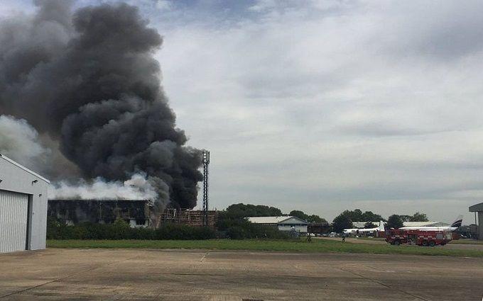 УЛондоні врайоні аеропорту прогримів вибух— ЗМІ