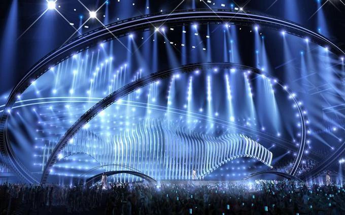 Євробачення-2018: з'явилося відео з ескізом сцени