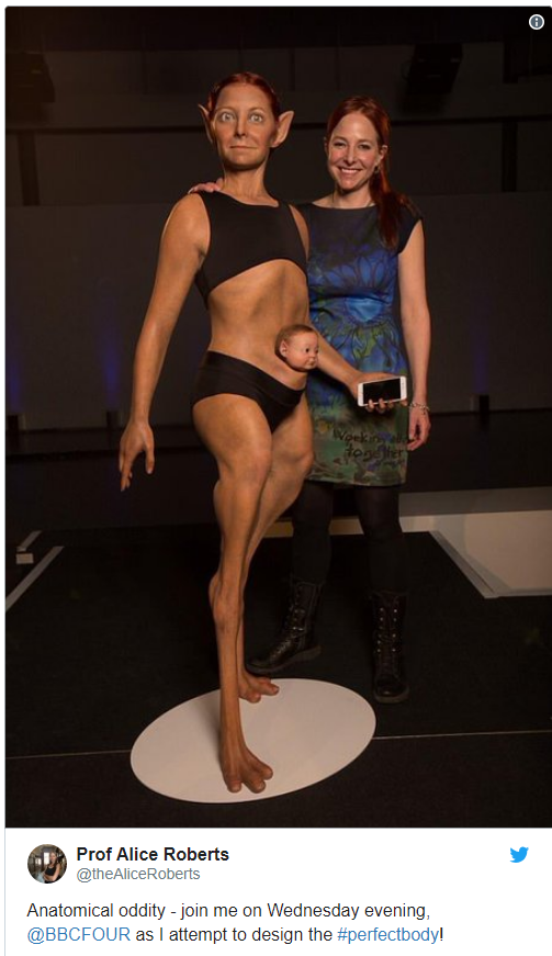 """В сети опубликовали фото """"идеальной"""" женщины будущего (1)"""