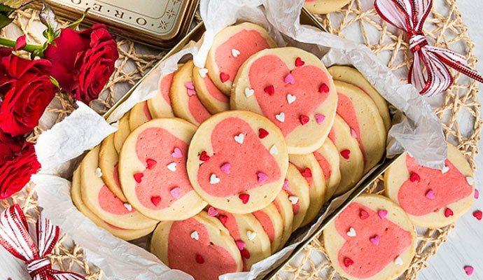 Рецепт ко Дню святого Валентина: Печенье «Валентинки» (фото)