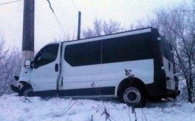 На Донбассе разбился автобус с пассажирами, много пострадавших: опубликованы фото