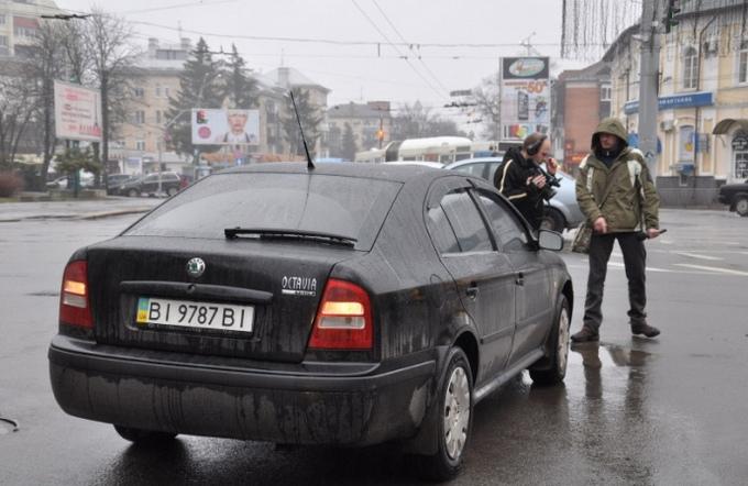 В Полтаве произошло ДТП с участием депутата Рады: опубликованы фото и видео (1)