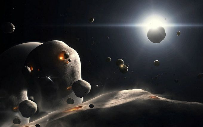 Вращение тыс. астероидов внашей Солнечной системе