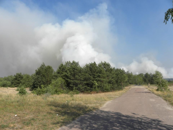 Масштабна пожежа під Чорнобилем: з'явилися фото і нові подробиці (1)