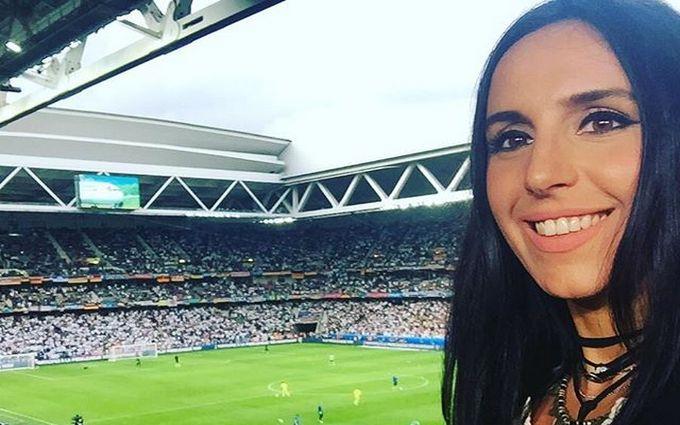 Джамала показала, як вболівала за Україну на Євро-2016: опубліковано фото і відео