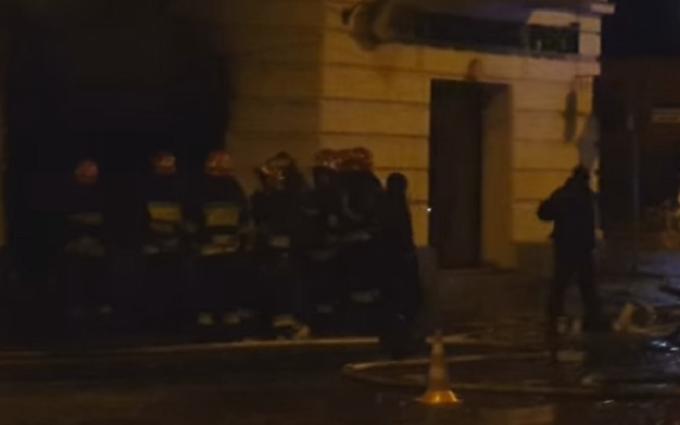 Атака на Сбербанк России во Львове: появилось видео