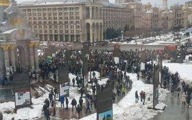 """Кофе на Крещатике"": появились фото и видео акции в центре Киева"
