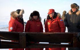 Путін з Медведєвим в Арктиці стали героями жартів і фотожаб