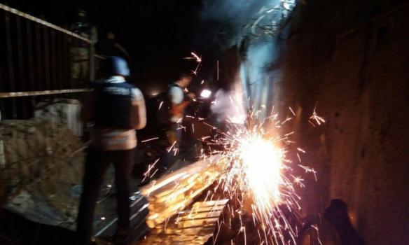 Побоїще в Києві: з'явилися нові фото зі скандального будівництва (1)